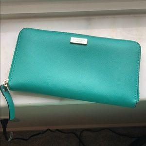 Turquoise Kate Spade Wallet
